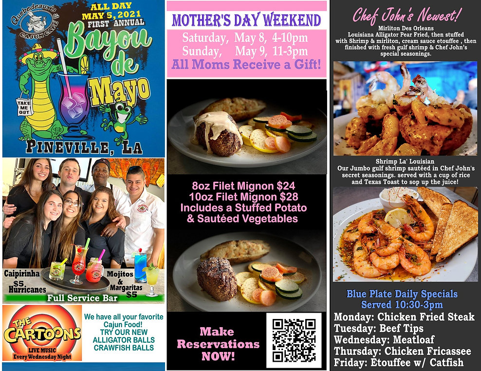 Mother's Day Cinco de Mayo Bayou de Mayo