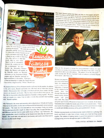 Chef John in the NEWS