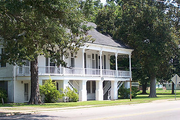 Historical Building in Colfax, LA