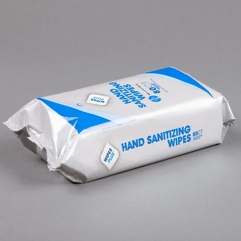 Wipes Plus Sanitizing Wipes 80Ct