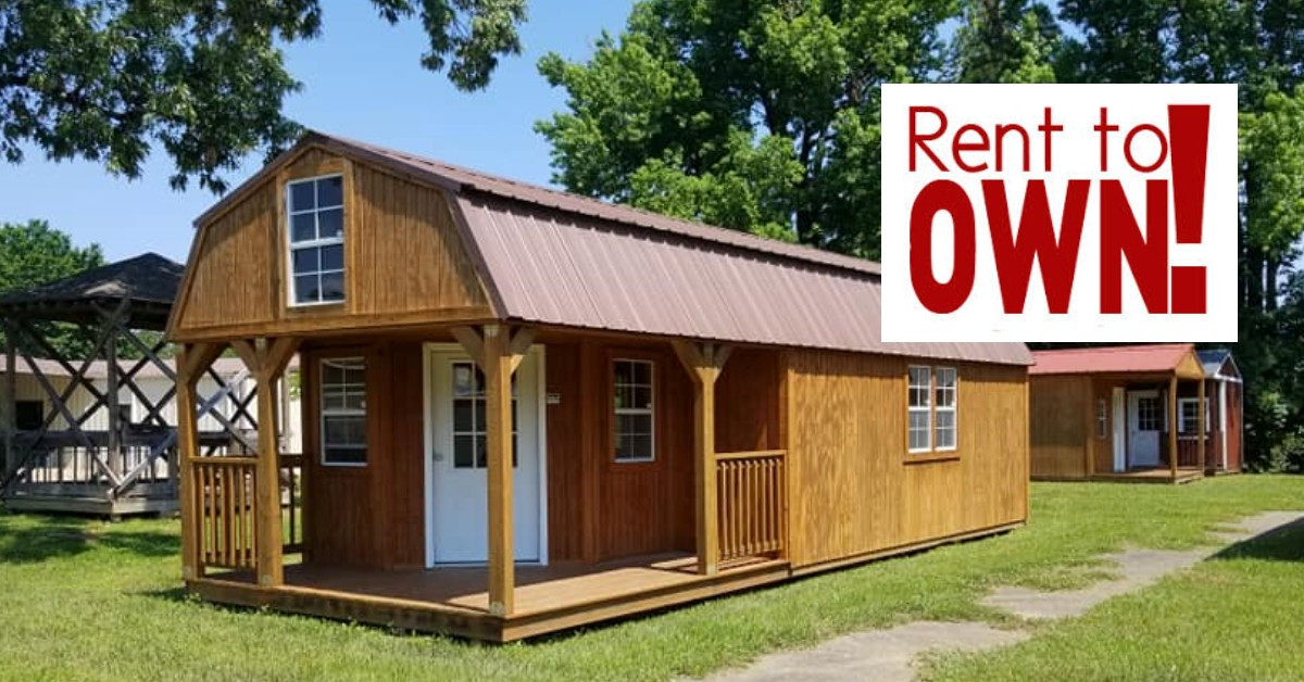 Rent to Own | Interstate Portable Buildings | Louisiana