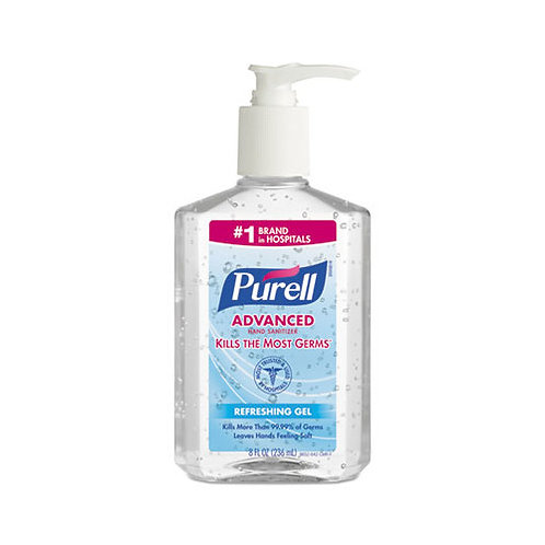 12oz Purell Sanitizing Gel w/ Pump