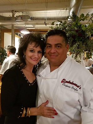 Chef John Valenzuela & wife, Leslie