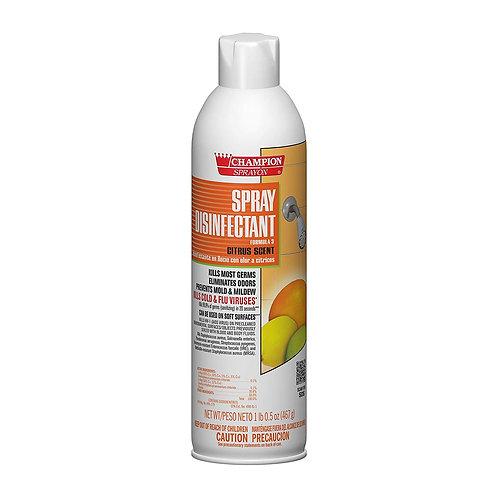 Champion Disinfectant Spray Citrus Scent 16.5oz