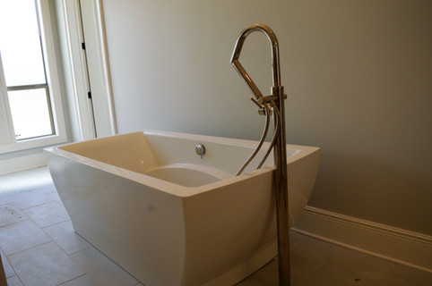 The bath...