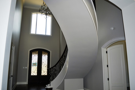 back side of Floating Stairs