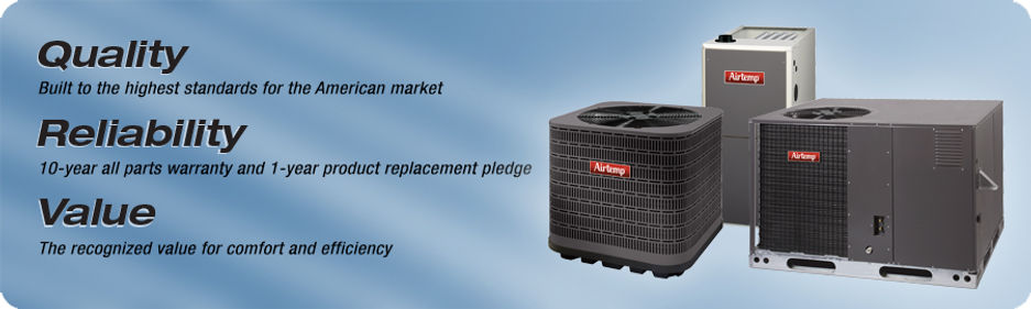 Bordelon's Airtemp New system financing is available.