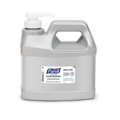 64 oz Purell Sanitizing Gel Refil