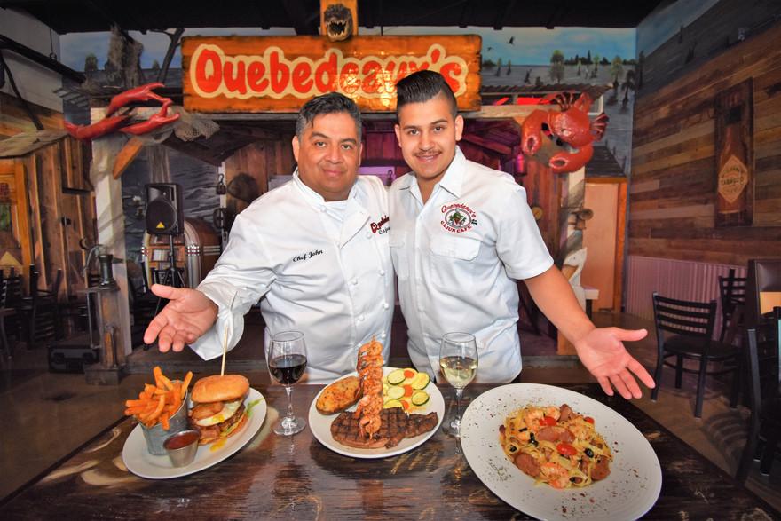 Chef John and son Antonio
