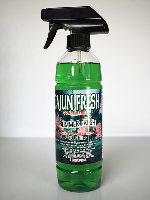 "Cajun Fresh ""Summer Fresh"" Concentrate Odor Neutralizer"