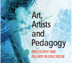 Be at Home in the Word: a review of Art, Artists and Pedagogy by Jorge Lucero