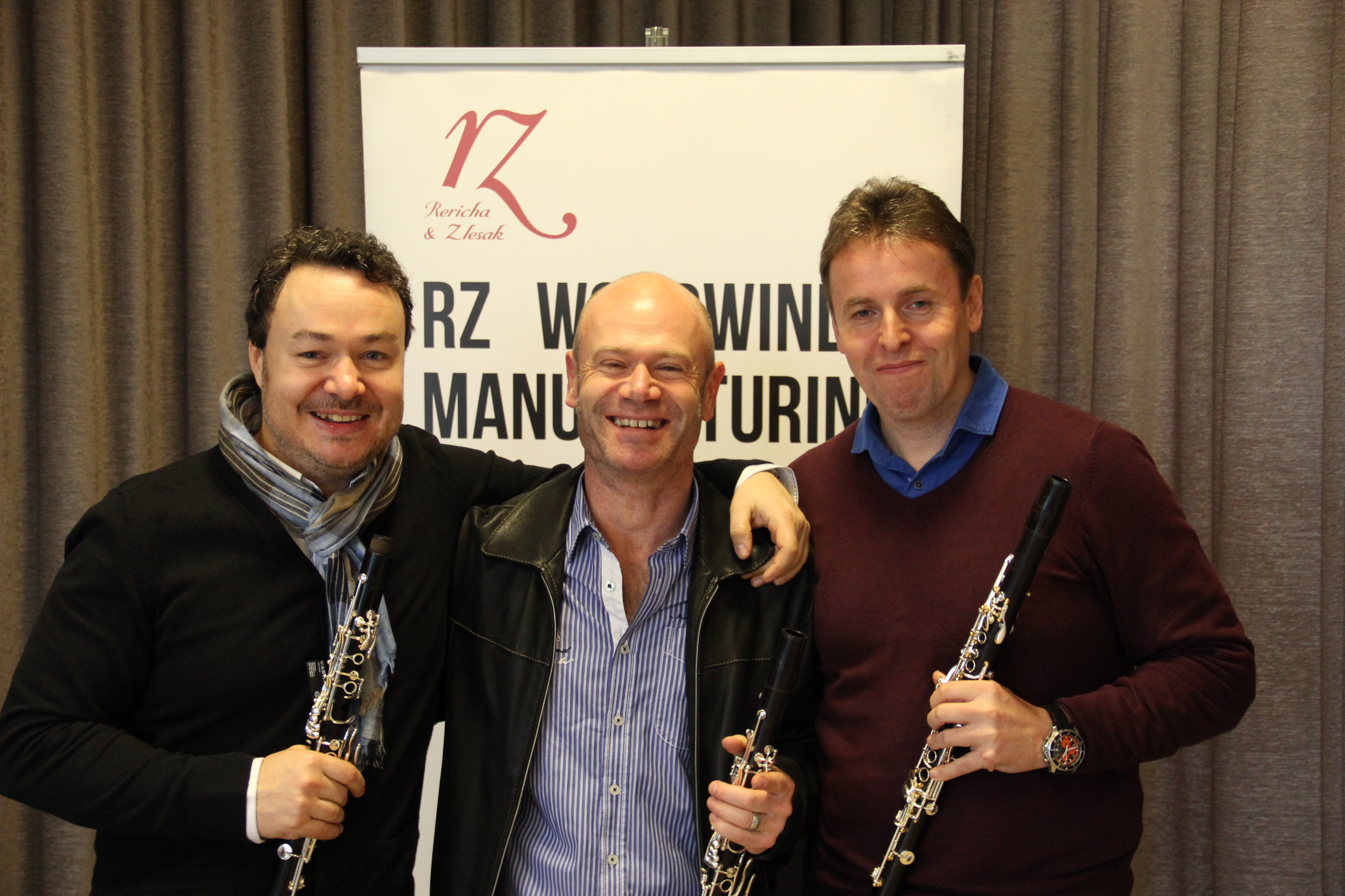 Milan Rericha & Roman Zlesak, RZ-Clarinets