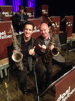 With Eric Marienthal