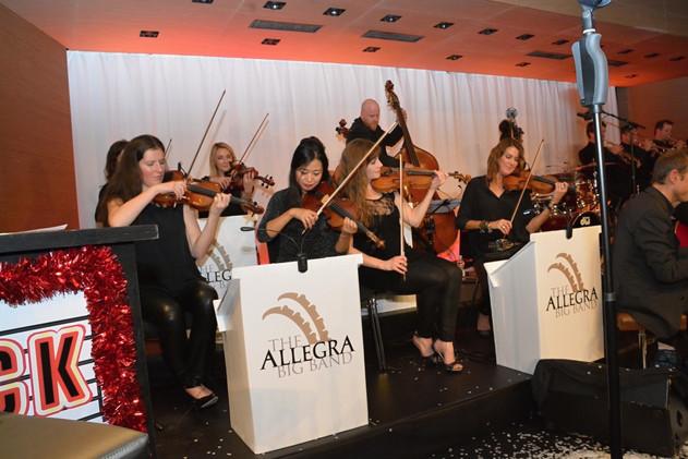 Olga Niklikina | The Mountain Rat Pak in Chur, mit Allegra Big Band