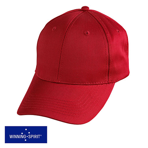 Winning Spirit Polycotton Twill Cap - CH13