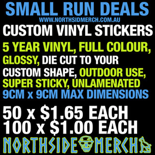 Small Run Stickers Deal