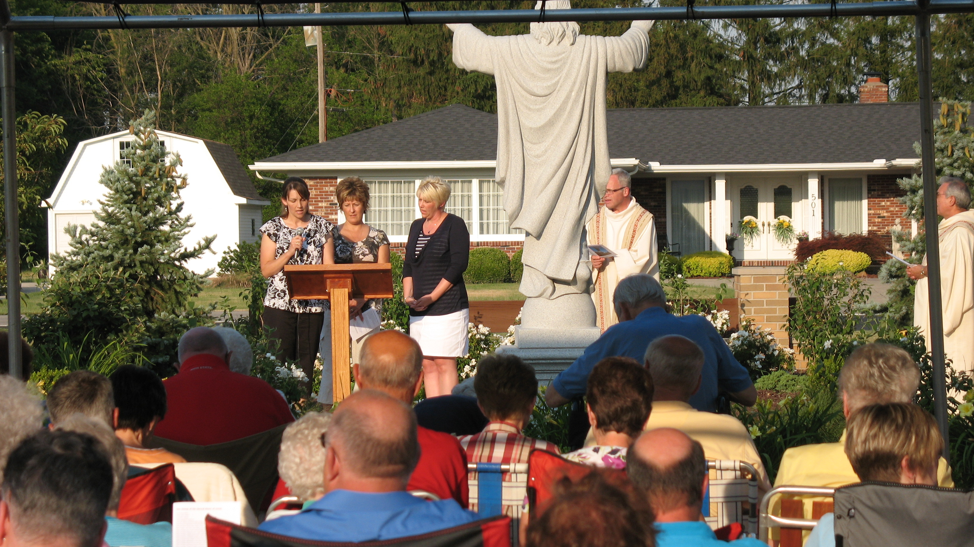 prayer garden dedication 029