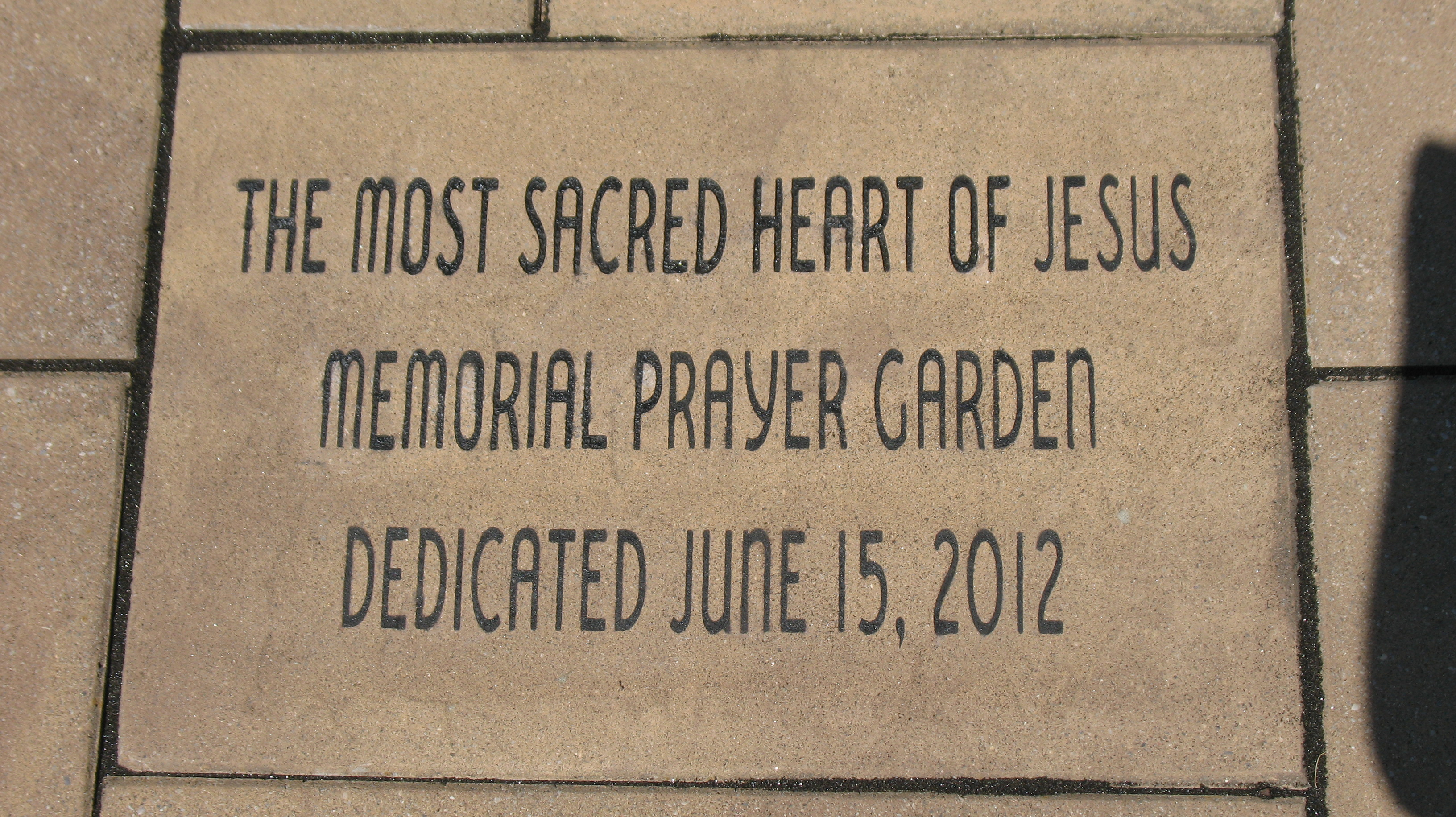 prayer garden dedication 004