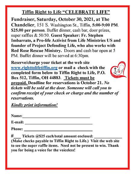 Bulletin CELEBRATE LIFE Annual Fundraiser2020.jpg
