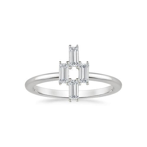 Baguette Sapphire Ring