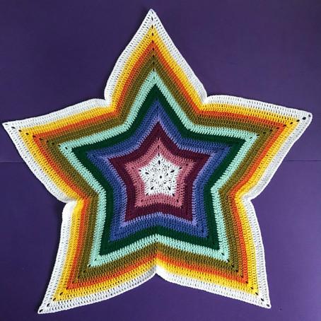 Starburst Blanket Pattern