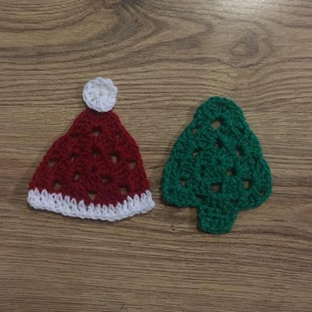Christmas Granny Triangles