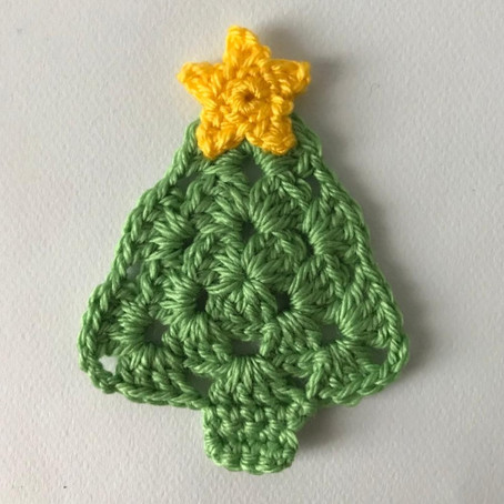 Crochet Christmas Tree and Star