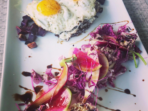 Crown Chakra Brunch with Waimea Farmers Market Bounty