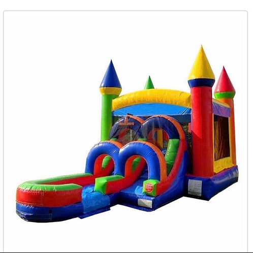 Super Combo Bounce With Slide Wet or Dry