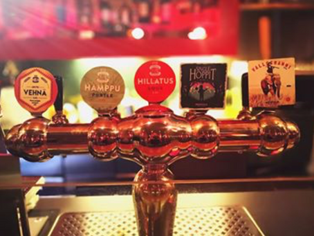 Five new taps serving craft beers in Caio Oulu