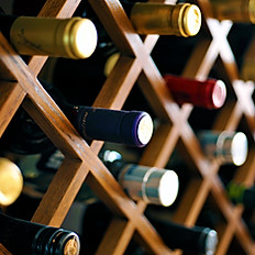 A variety of wines, or leave it to us to pair the wine with your menu