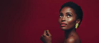 Beau modèle afro-américain