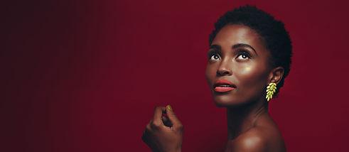 Beautiful African American Model