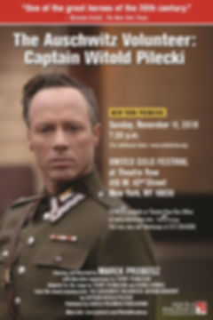 Captain Witold Pilecki-Premiere NYC