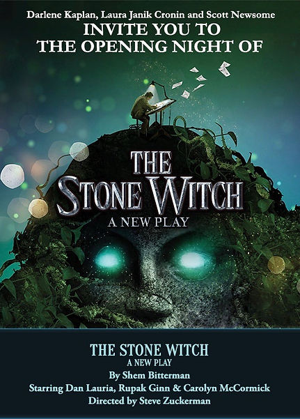 Stone Witch Opening Night Invitation