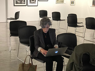 Producer Darlene Kaplan at Aperture Gallery