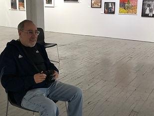 Director Steve Zuckerman at Aperture Gallery