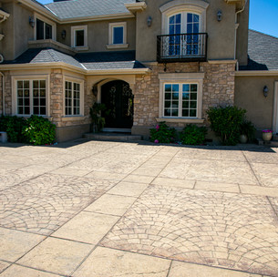 Driveway Stamped