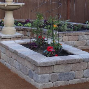 Retaining Wall Planter Box