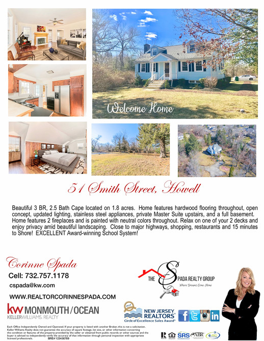 Just Listed in Howell