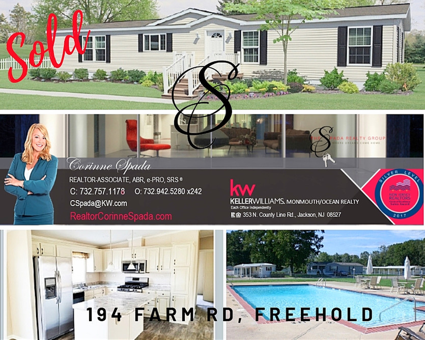 Sold in Freehold