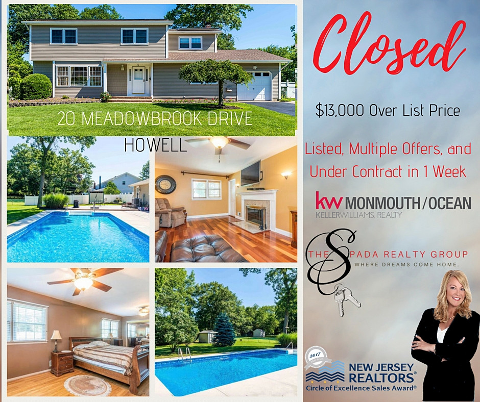 Sold Over List in Howell