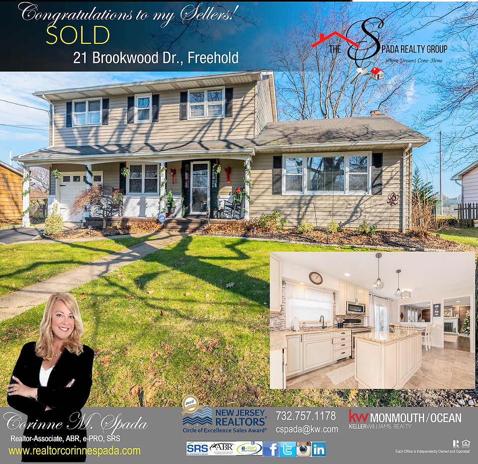 JUST SOLD IN FREEHOLD