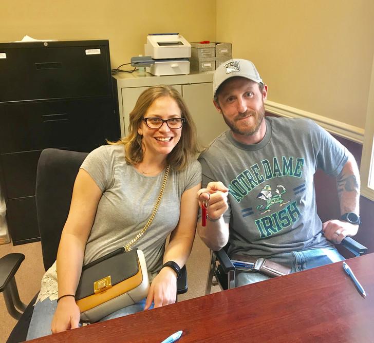 Congrats Brian and Amanda!