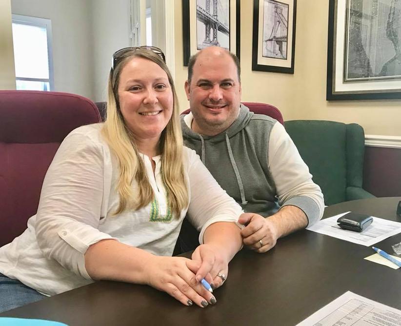 Congrats Joe and Liza!