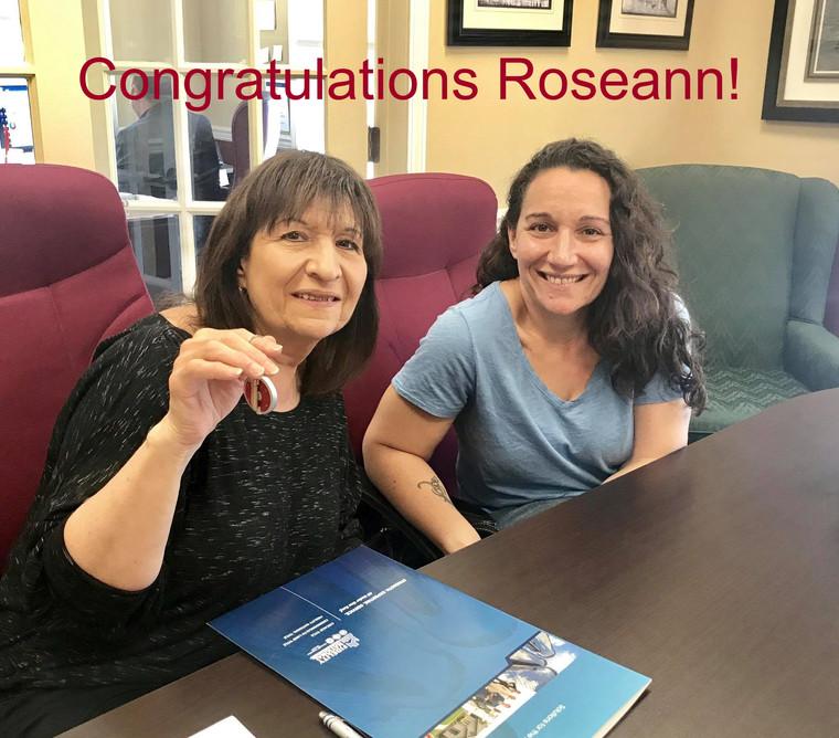 Congratulations Roseann!