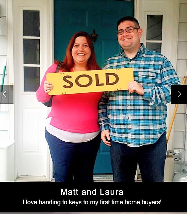 Congrats Matt and Laura!