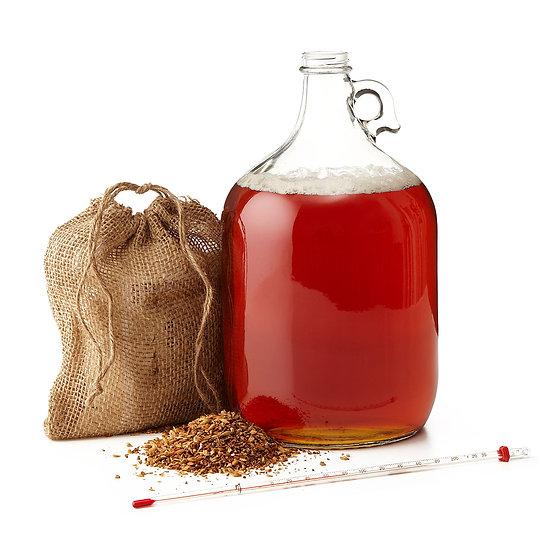 5 Gallon Beer Brewing Equipment & Ingredient Kit