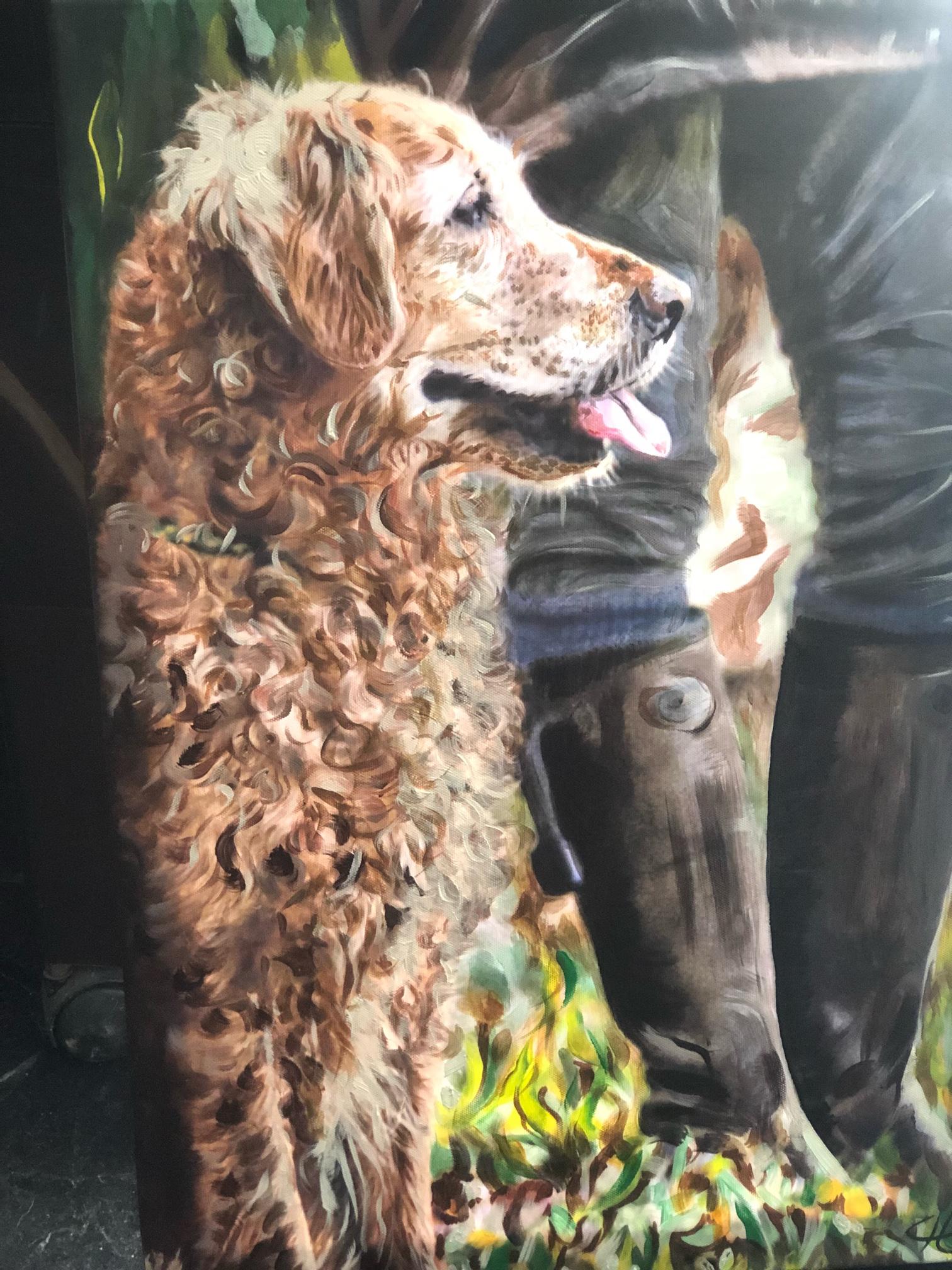 2000 Dog_Painting