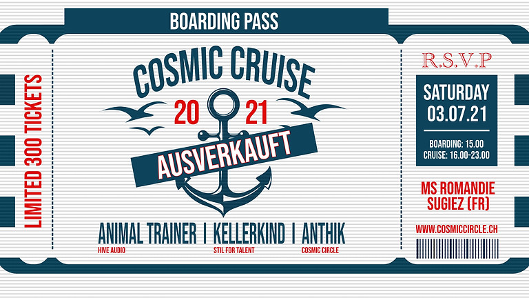 Cosmic Cruise 2021 (Sold Out)